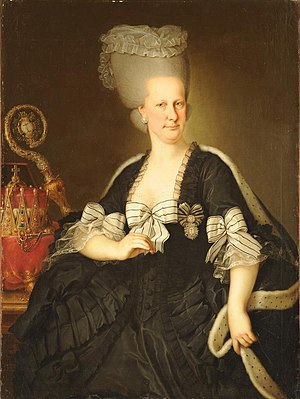 Archduchess Maria Elisabeth of Austria (1743–1808) - Portrait by Johann Baptist von Lampi the Elder