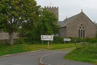 Abbotsham - Abbotsham church.