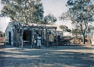 Paakantyi - Paakantyi indigenous house in 1935
