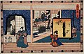 Act II- Konami Receiving Rikiya while Her Mother Watches; Honzo Holds a Pine Branch after Cutting with Wakasanosuke's Sword LACMA M.66.35.47.jpg