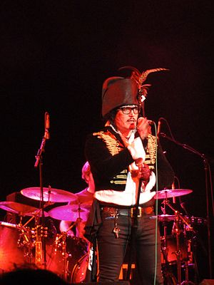 Adam Ant - Adam Ant on stage in 2011