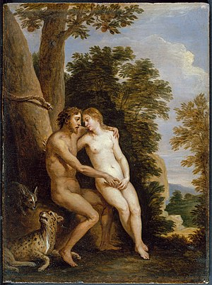 Adam and Eve in Paradise MET DT3090