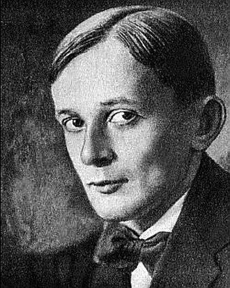 Georgy Adamovich - Image: Adamovich georgy