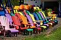 Adirondack chairs, Lunenburg, Nova Scotia, Canada.jpg