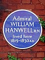 Admiral William Hanwell R.N. lived here 1819-1830 A.D (2).jpg
