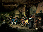 Adriaen van Ostade - Peasants Dancing in a Tavern.jpg
