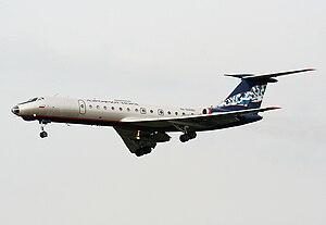 Nordavia - An Aeroflot-Nord Tupolev Tu-134A.