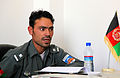 Afghan National Police brief Coalition forces at Operations Coordination Center 110617-A-WA427-006.jpg