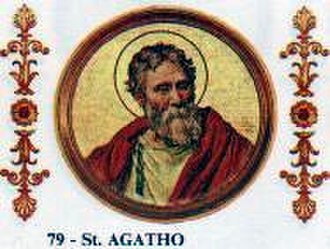 Pope Agatho - Image: Agatho