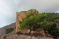 Agia Roumeli - ruined castle – 02.jpg