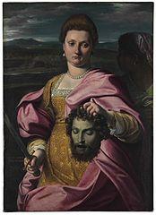 Ritratto di dama come Giuditta