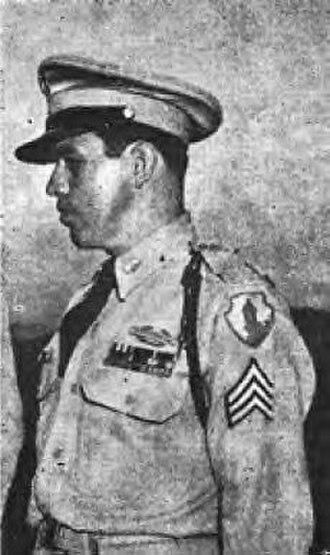 Hispanic Americans in World War II - Sergeant First Class Agustín Ramos Calero