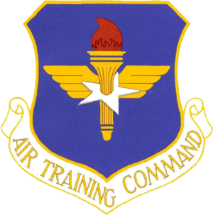 Rick Husband Amarillo International Airport - Image: Air Training Command Emblem