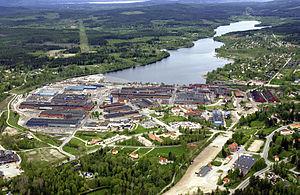 Uddeholms AB - Hagfors Järnverk (Iron mill), Hagfors, Sweden