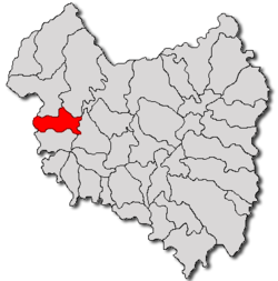 Location of Aita Mare