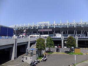 Ajinomoto Stadium - Stadium exterior