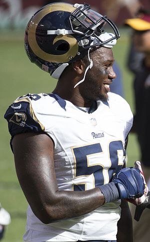 Akeem Ayers - Ayers with the Rams in 2015.