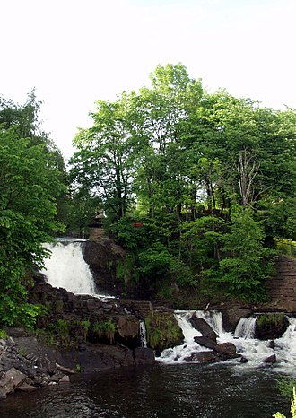 """Akerselva - """"Møllerfossene"""" in Akerselva"""