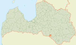Aknīste Parish parish of Latvia in Aknīste Municipality