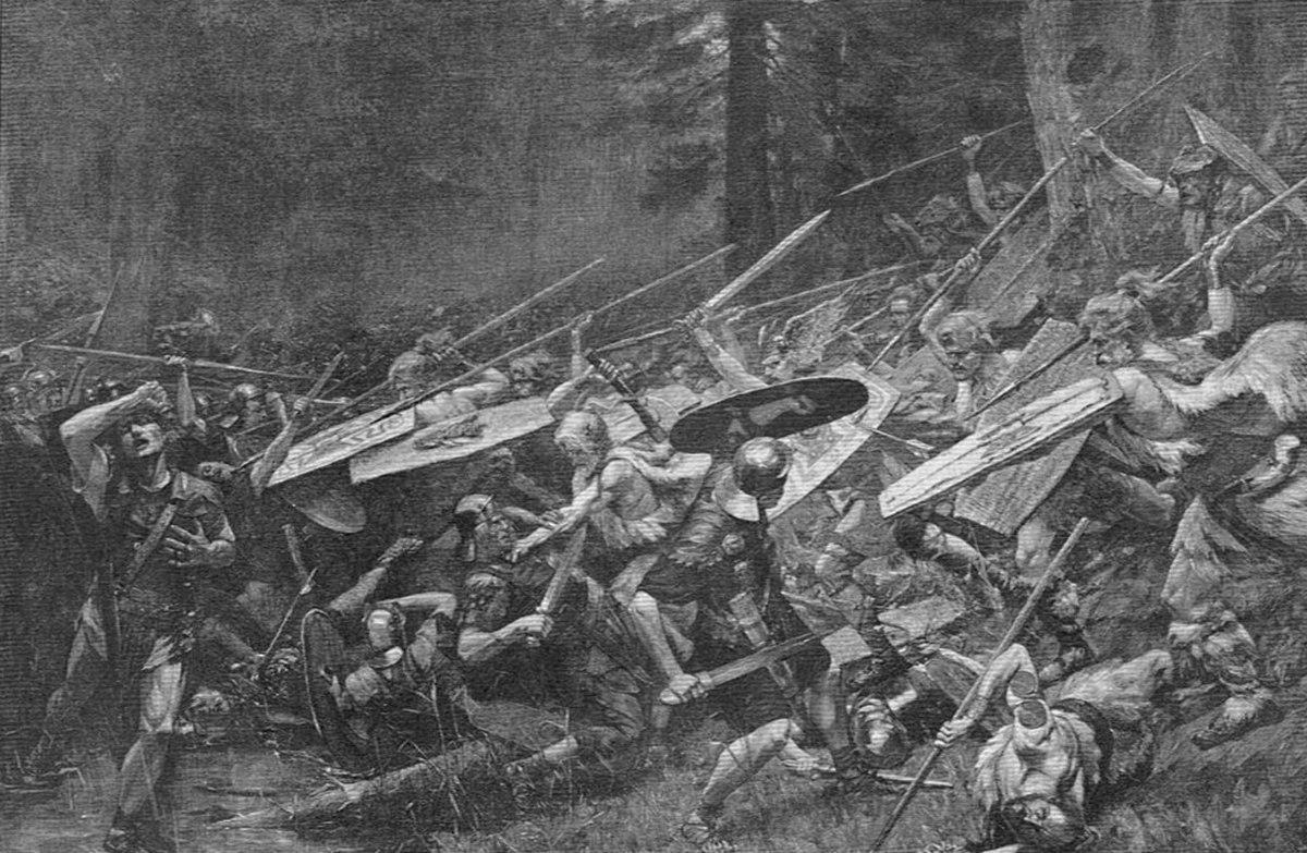 Battaglia della foresta di teutoburgo wikipedia for Pianta della foresta di pioppo