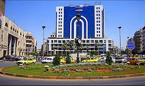 Homs - Image: Al Shuhadaa Square Hims, Syria