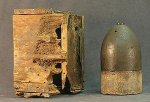 Underwater Archaeology Branch, Naval History & Heritage Command - Image: Alabama Box and Shell