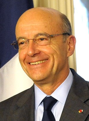 The Republicans (France) presidential primary, 2016 - Image: Alain Juppé in Washington DC (cropped 2)