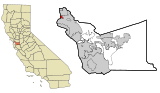 Alameda County California Incorporated and Unincorporated areas Emeryville Highlighted.svg
