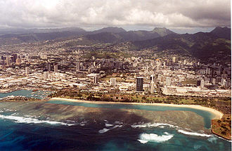 Ala Moana, Honolulu - Ala Moana stretches from Honolulu Harbor to Waikīkī and is home to Ala Moana Center, once the largest shopping center in the United States and today the largest open air shopping center in the world.