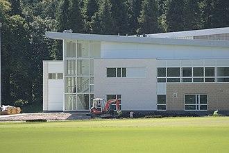 Lennoxtown training centre - Image: Alanmaguirelennoxtow n 12