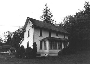 National Register of Historic Places listings in Clackamas County, Oregon - Image: Albright Farm 1978 1 Clackamas Co Oregon