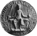 Alexander II, King of Scotland (seal 2).png