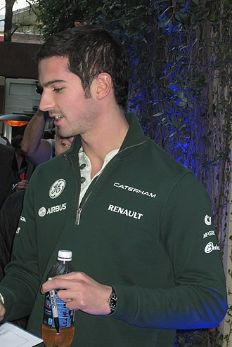 Alexander Rossi - Rossi at the 2013 United States Grand Prix, where he participated in FP1 for Caterham F1