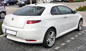 Alfa Romeo GT - Rear view of an Alfa Romeo GT