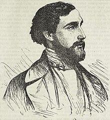 Alfred Rethel, Selbstbildnis, um 1845 (Quelle: Wikimedia)