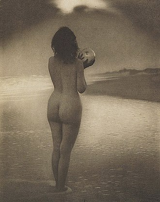 """Alice Boughton - """"Dawn"""", by Alice Boughton. The photogravure was published in Camera Work, 1909"""