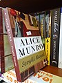 Alice Munro Book in Bookstall - Baku - Azerbaijan (17745726700).jpg
