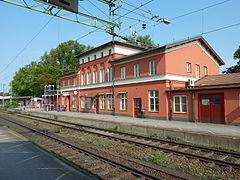 Alingsås' station.   JPG