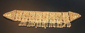 Headband - Tartessian gold headband from the Iron Age