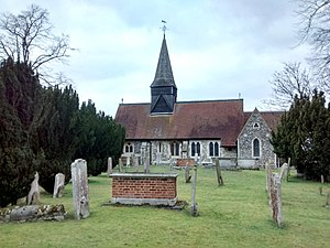 Foots Cray - Image: All Saints Church, Foots Cray