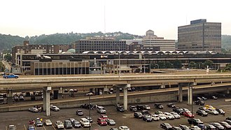 Allegheny Center (Pittsburgh) - The former Allegheny Center Mall from PNC Park in 2014.