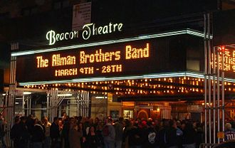 Beacon Theatre (New York City) - The Allman Brothers Band opening night in 2009 celebrating their 40th anniversary at the Beacon