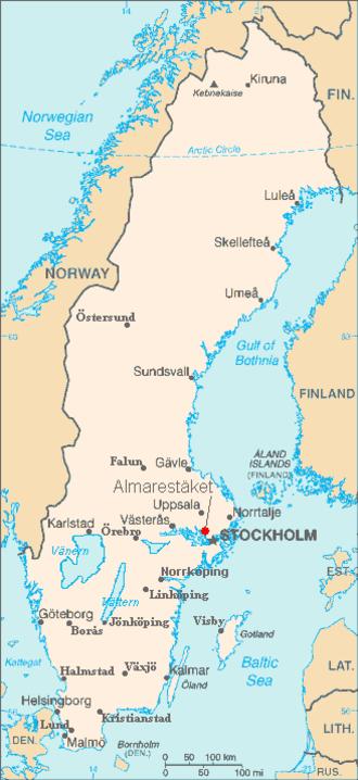 Almarestäket - Image: Almarestäket