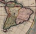 América do Sul - Fragmento do Mapa do Mundo de Joan Blaeu (1664).jpg