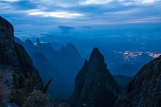 Dawn - Serra dos Órgãos National Park, in Rio de Janeiro state, Brazil, at dawn.