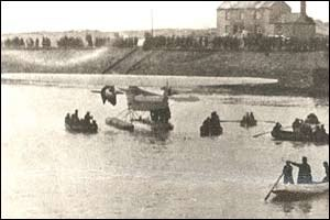 Burry Port - Amelia Earhart Landing in Burry Port.