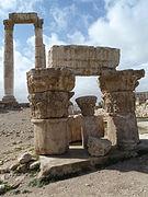 Amman Citadel, Temple of Hercules P1090387.JPG