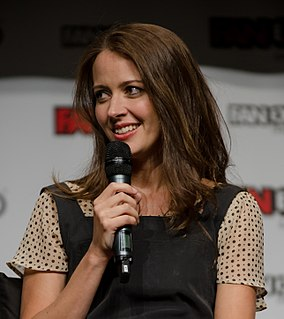 Amy Acker American actress