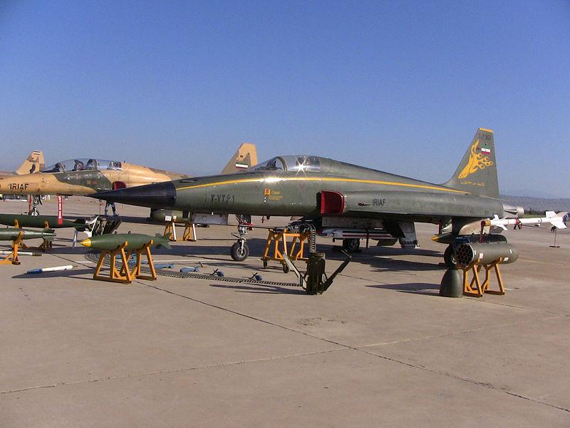 An IRIAF HESA Azarakhsh in Vahdati Airbase Air Show.JPG