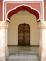 An ornate brassdoor at City Palace, Jaipur.jpg